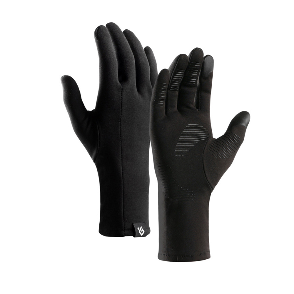 New Thin Section Lightweight Touch Screen Man Gloves Ladies Fashion Running Anti-Skid Windproof Riding Gloves Warm Spring