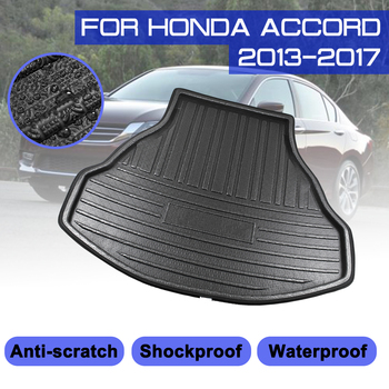 For Honda Accord 2013 2014 2015 2016 2017 Car Floor Mat Carpet Rear Trunk Anti-mud Cover image