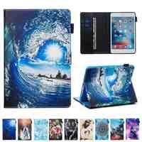 Funda de piel sintética para Huawei MediaPad M3 Lite 8,0, CPN-W09, CPN-AL00, 8,0 pulgadas, con ranuras para tarjetas, funda para Tablet, película y bolígrafo, novedad