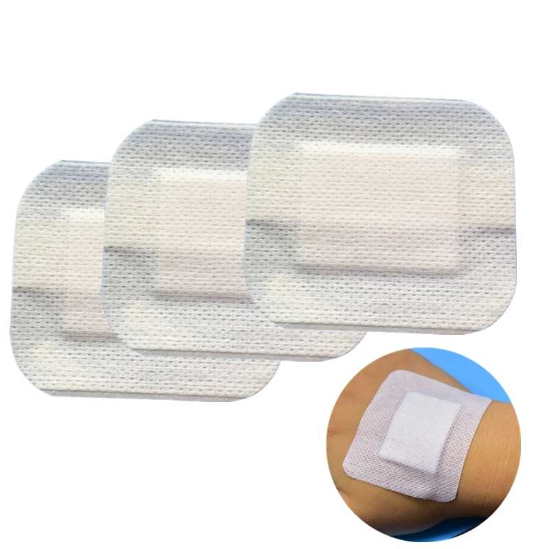 10 Pcs Hypoallergeen Non-woven Medische Lijm Wondverband Band Aid Bandage Grote Wond Ehbo Outdoor 2 Size