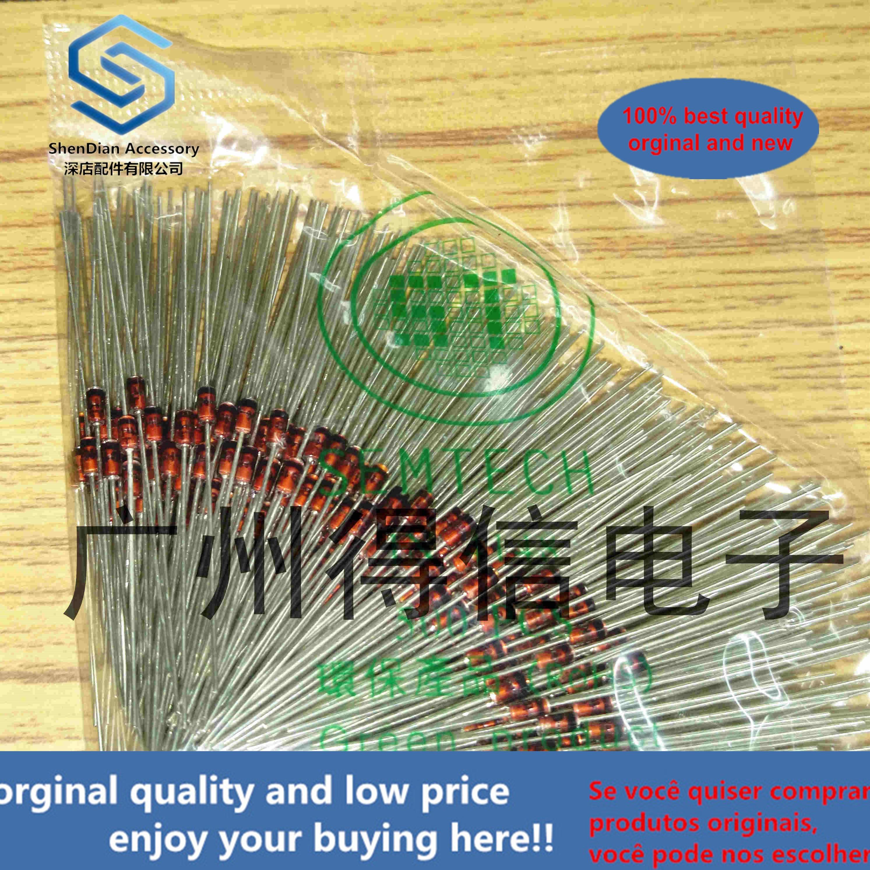 500pcs 100% Orginal New 1N4733A 1W 5.1V New Original Voltage Regulator Diode