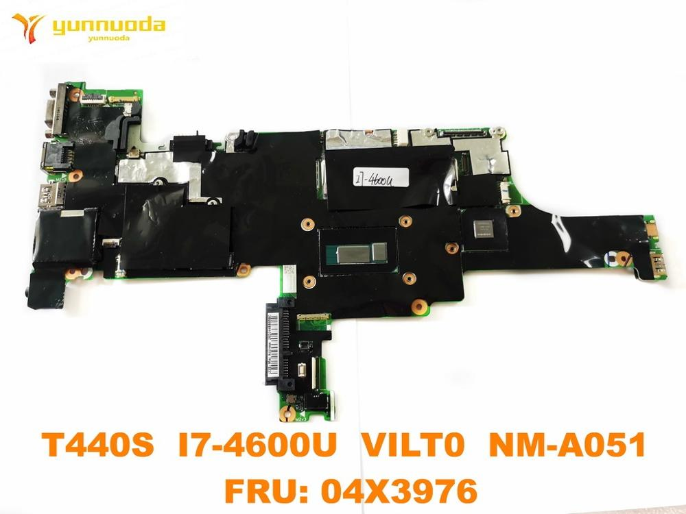Original for Lenovo Thinkpad T440S Laptop motherboard T440S <font><b>I7</b></font>-<font><b>4600U</b></font> VILT0 NM-A051 FRU 04X3976 tested good free shipping image