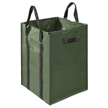 48 галлонов, садовая сумка, очень большие многоразовые сумки с листьями, 4 ручки, относительные складные садовые контейнеры для газона и двора