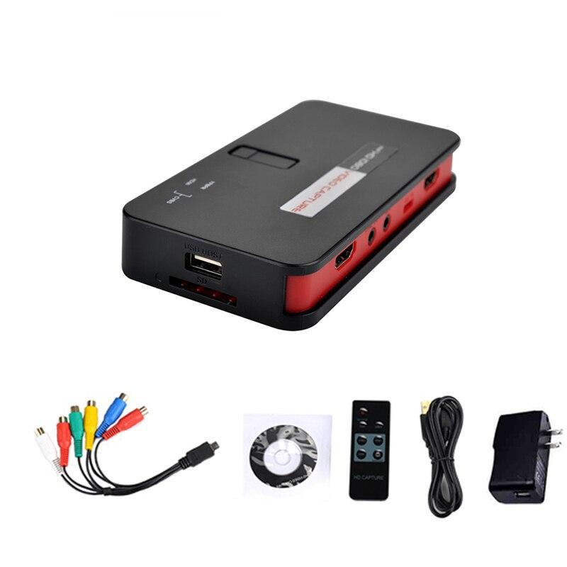1080P HDMI jeu HD Capture vidéo boîte Grabber pour XBOX/PS3/PS4/TV et vidéo en direct
