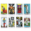The Most Popular Tarot Deck 78 Cards Set for Adults with Guide Book Occult Divination Cards Major and Minor Arcana Game Gift