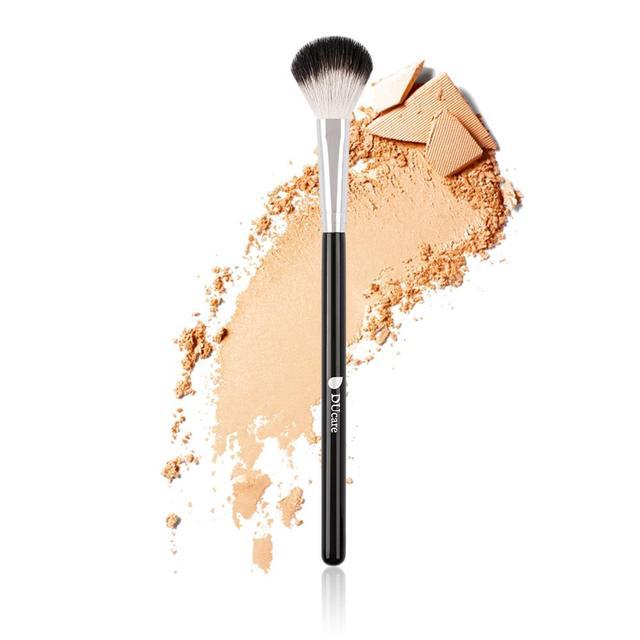 DUcare 1pcs Makeup Brushes Top Goat Hair Blender Contour Highlighter Make Up Brush 5