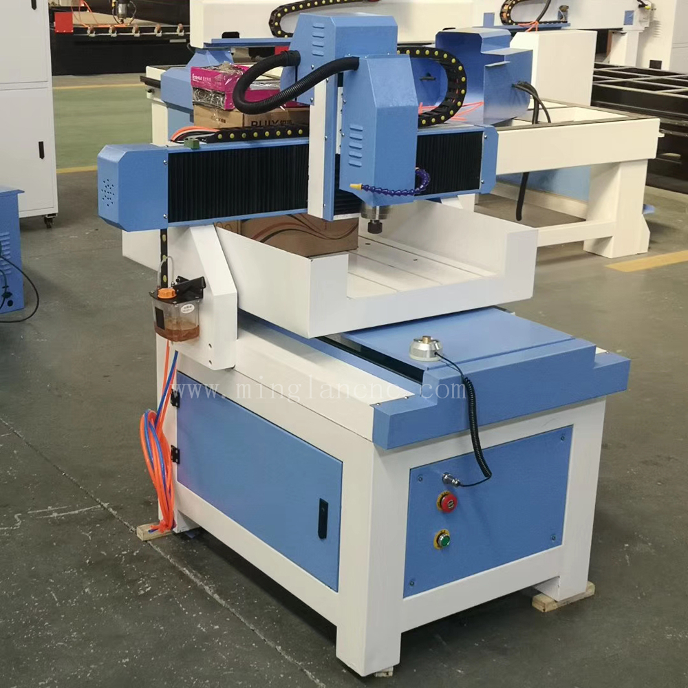 Metal Deep Engraving Machine 4040 6060 6090 Small Cnc Router