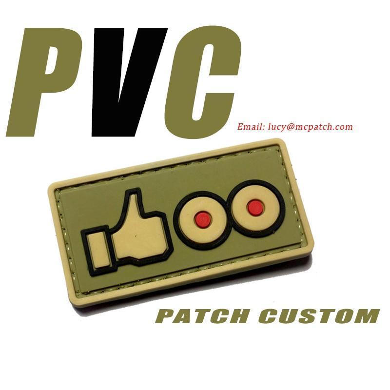 ПВХ-нашивки с логотипом на заказ, нашивки для одежды, термоклейкие нашивки с крючком и петлей, полицейские 2D 3D резиновые нашивки, дешевая апп...