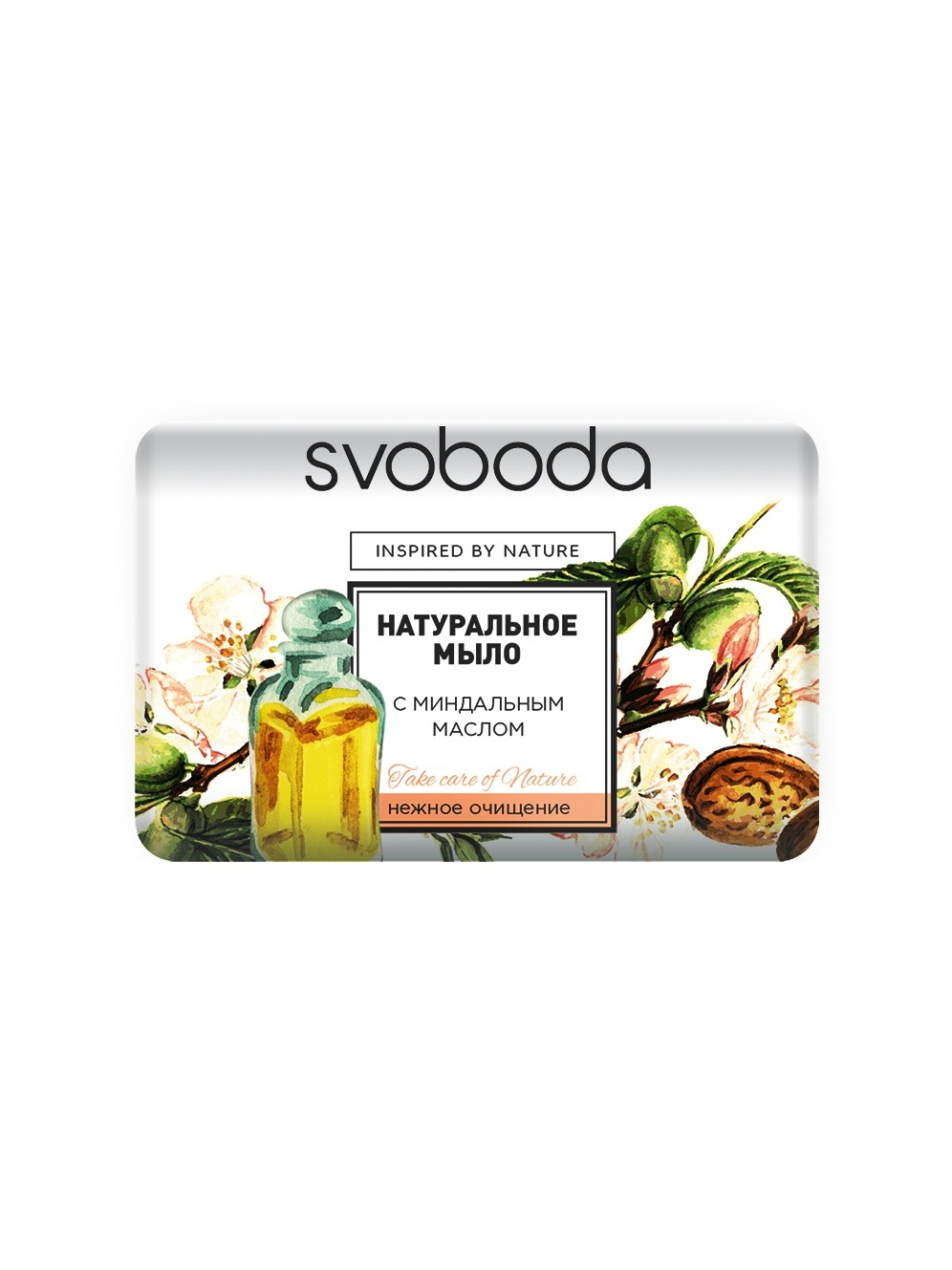 Bath Soap Natural Svoboda With миндальным Oil