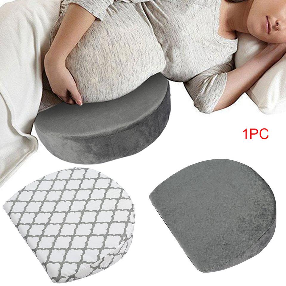 55 pulgadas Embarazo en forma U almohada cuerpo completo para respaldo blanco