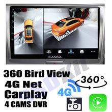 Navigazione Audio per auto GPS Carplay DVR 360 Birdview intorno al sistema 4G per Haval H6 1 2011 ~ 2019