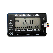 1 7S Battery Function Test Meter Power and Voltage Display LiPo LiFe Li ion Ni Cd Battery Checking Diy Battery Pack Detector
