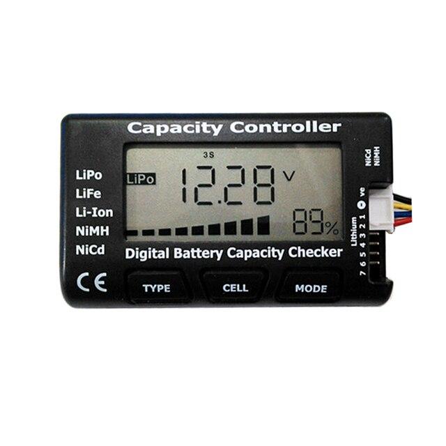 1 7S pil fonksiyonu Test ölçüm cihazı güç ve voltaj göstergesi LiPo LiFe Li ion ni cd pil kontrol Diy pil paketi dedektörü