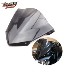 Pára-brisa para yamaha mt 07 2019 MT-07 FZ-07 fz07 mt07 2014-2020 acessórios da motocicleta windscreen defletores de vento moto frente