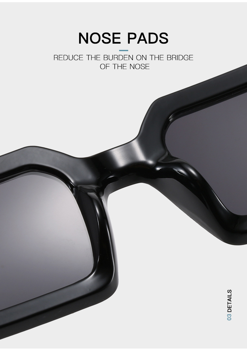 Fashion Sunglasses Designer Luxury Brand Rectangle Sunglasses Women Vintage Small 2021 trend Female Sun Glasses Shades For Women (8)