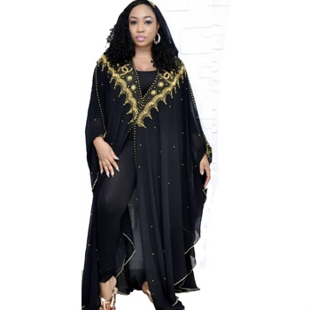 Sequin Women Shrug Niqab Abaya Kimono Long Muslim Party Chiffon Cloak Cardigan Islamic African Turkey Clothing Dubai Kaftan Robe