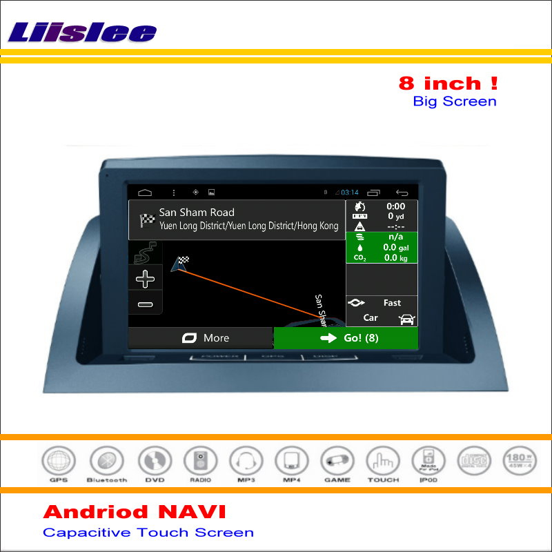 Liislee Car <font><b>Android</b></font> GPS <font><b>Navigation</b></font> System For Mercedes Benz C Class <font><b>W204</b></font> C200 2007~2014 Radio Audio Video ( No CD DVD Player ) image