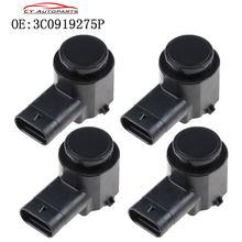Capteur d'assistance au stationnement, PDC, pour AUDI Q7 TT 8P B7 B8 C6 VW Passat 3C0919275P, 4 pièces, nouveauté