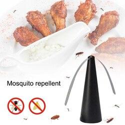 Wentylator odstraszający muchy trzymaj muchy i robaki z dala od jedzenia ciesz się posiłkiem na świeżym powietrzu pułapka na komary komary do zabijania owadów odrzuć szkodniki w Środki odstraszające od Dom i ogród na
