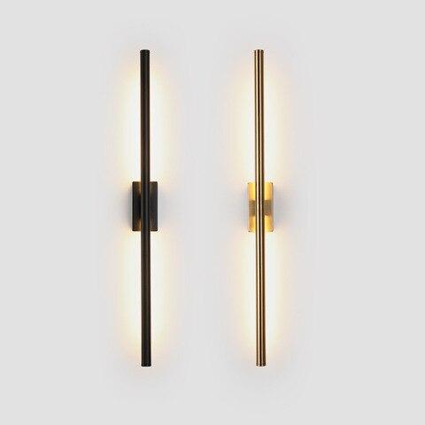 minimalista longa faixa lampadas de parede moderna nordic sala estar fundo da parede quarto lampada