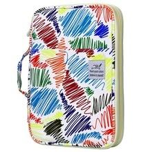 96 отверстий Цветной Карандаш Чехол большой Ёмкость держатель для карандашей и ручек, сумка-Органайзер для художника