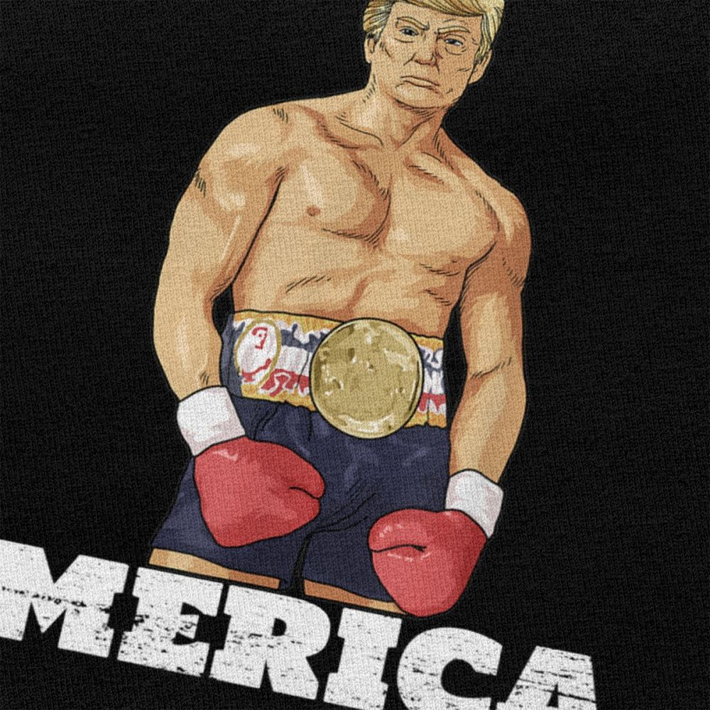 T-shirt Donald Trump America Boxe humour Créer Son T Shirt