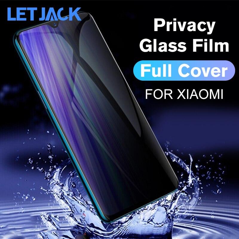 Full Cover Privacy Tempered Glass For Xiaomi Redmi Note 8 K20 Pro Anti-spy Screen Protector For Xiaomi CC9E 8SE A2 Mix 2S 3 2 6