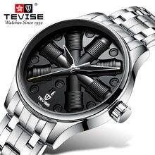TEVISE Men Automatic Mechanical Watch St