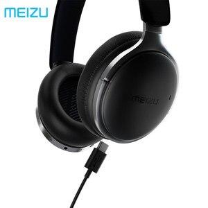 Image 2 - Meizu hd60 אלחוטי אוזניות Bluetooth 5.0 סוג c טעינה 40mm CVC רעש מבטל אוזניות מגע פעולה Apt  X אוזניות