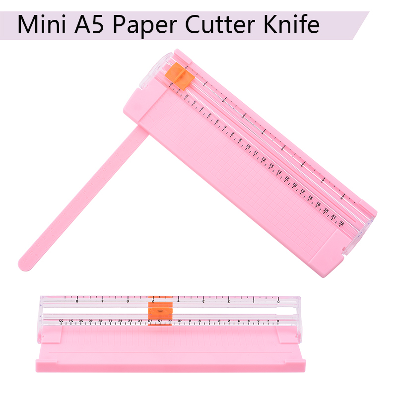 A5 Precision Paper Photo Trimmers Cutter Mini Portable Cutting Mat Tools for Home Office DIY Scrapbook Papers Photo Cutter Head in Cutting Mats from Office School Supplies