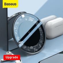 Baseus שדרוג 15W אלחוטי מטען עבור iPhone 11 X Xs Max Xr 8 בתוספת מהיר אלחוטי טלפון מטען עבור סמסונג S10 S9 Xiaomi MI9