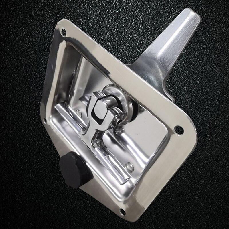 Нержавеющая сталь автомобиль складной Т-образная ручка замок трейлер самолет RV Караван грузовик инженерные транспортные средства защелка набор инструментов ручка замки