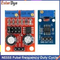 NE555 Pulse Frequenz Duty Zyklus Einstellbare Module 10kHz -200kHz Quadratische Welle Signal Generator für arduino DIY Kit