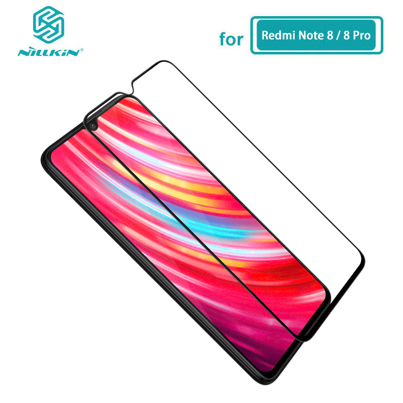 Redmi Note 8 Glass Nillkin CP+ Full Glue Coverage Screen Protector Tempered Glass for Xiaomi Redmi Note 8 Pro Note8