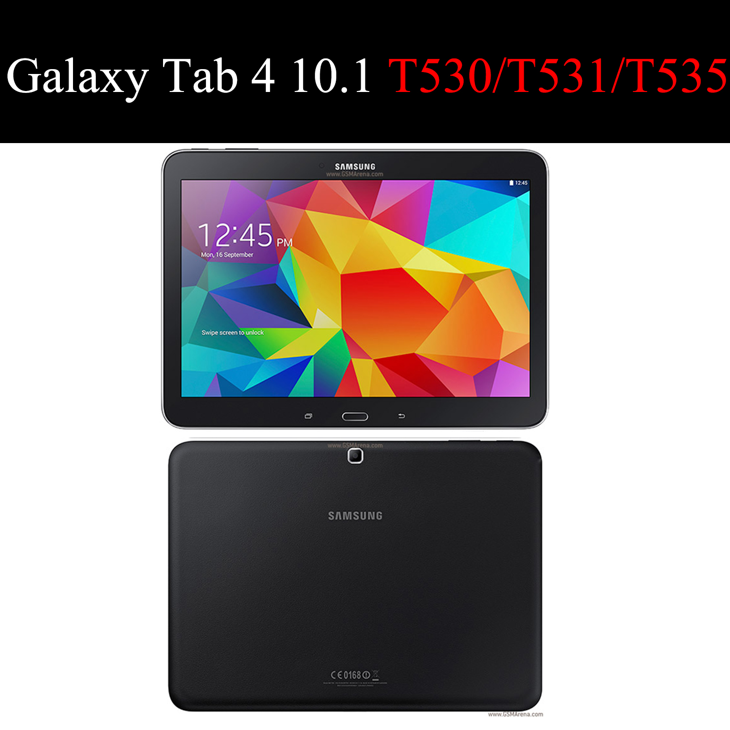 tablet flip case for Samsung Galaxy Tab 4 10 1 quot protective Stand Cover Silicone soft shell fundas capa card for T530 T531 T535 in Tablets amp e Books Case from Computer amp Office
