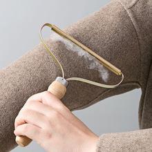 Mini przenośne usuwanie kłaków Fuzz golarka do tkanin na sweter wełniany płaszcz ubrania Fluff golarka do tkanin pędzel szczotka do sierści tanie tanio Meltset Odpylania rolki Instrukcja lint remover Sanitarnych Coat Brush Hair Remover Roller Wooden Cashmere Sweater Trimmer