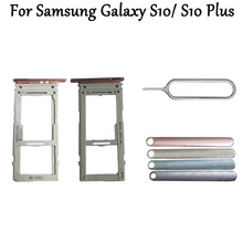 New For Samsung Galaxy S10 S10 Plus Sim Card Reader Holder
