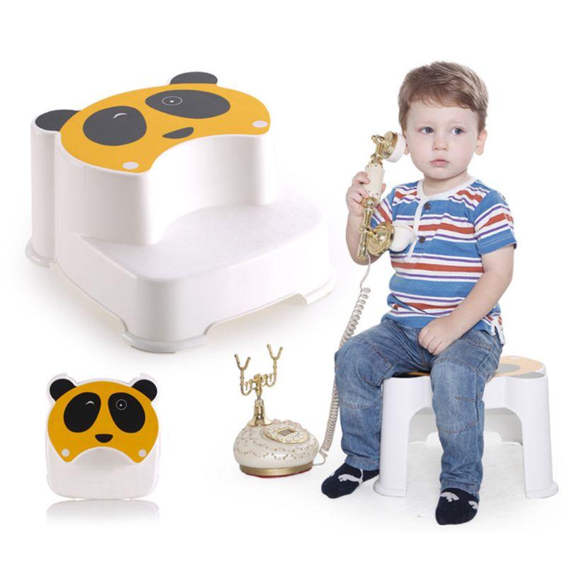 Детский двухслойный табурет для мальчиков и девочек, противоскользящий табурет для ванной