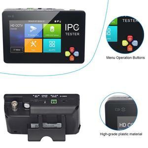 Image 4 - 3,5 Zoll H.265 4K IP CCTV Tester Monitor IP AHD CVI TVI IP Kamera Tester ONVIF PTZ WIFI 12V1A ausgang Drahtlose WIFI video