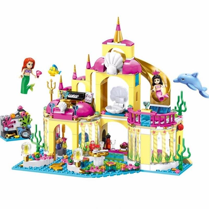 Compatible LEGO Castle Princess DISNEY Palacio Submarino de Ariel La Sirenita
