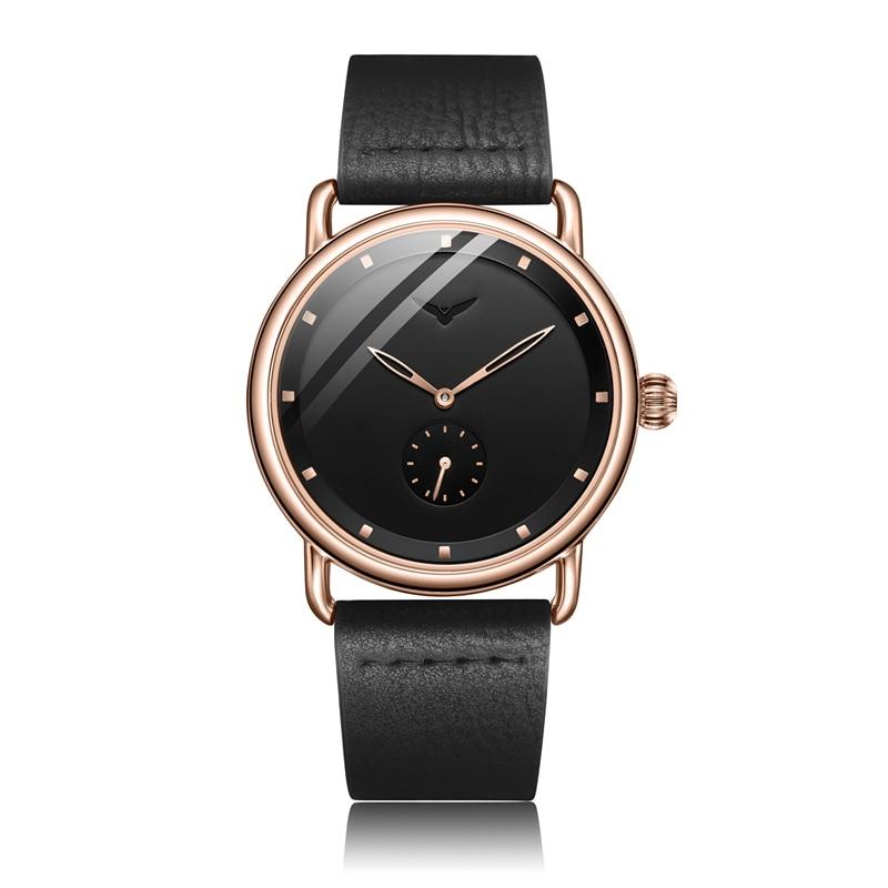 Casual watch men brand ONOLA quartz wristwatch simple waterpoor leather man watch Luxury watches 12