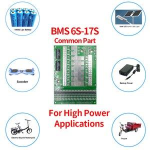 Image 5 - 6 17S BMS 35A 50A 80A 120A 150A18650 LiFePo4 Batteria Al Litio Regolabile Balancer 72V Equilibrio Bordo di Protezione per il Motore Elettrico