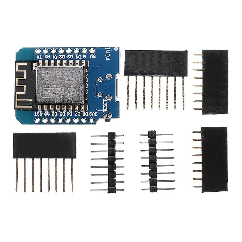 Модернизированная версия NodeMcu Lua ESP8266 D1Mini, беспроводная плата для разработки модуля Wi-Fi для Arduino