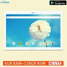 Cige 10.5 Polegada tablet pc 6gb ram 128gb rom 1920x12800 4g lte telefone 5g wifi android 8.0 10 núcleo 1920x1200 ips fhd gps