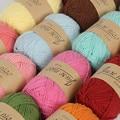 1 шт. вязаный вручную детский приятный для кожи свитер из молочного хлопка вязаный шерстяной шарф высокого качества Зимний шерстяной шарф с ...