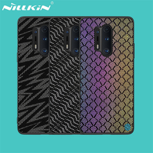 Cho Oneplus 8 Pro Ốp Lưng Oneplus 8 Bao Da Nillkin Twinkle Ốp Lưng Polyester Phản Quang Lưới Bảo Vệ Nắp Lưng Trong Một Plus One Plus 8 Pro