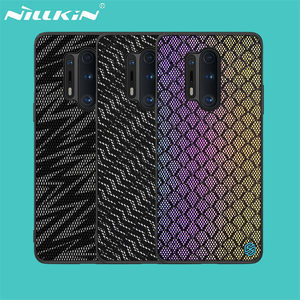 Image 1 - For OnePlus 8 Pro Case OnePlus 8 Cover NILLKIN Twinkle Case Polyester Mesh Reflective Protector Back Cover for One Plus 8 Pro