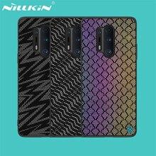 OnePlus için 8 Pro kılıf OnePlus 8 kapak için NILLKIN Twinkle kılıfı Polyester örgü yansıtıcı koruyucu arka kapak için bir artı One Plus 8 Pro