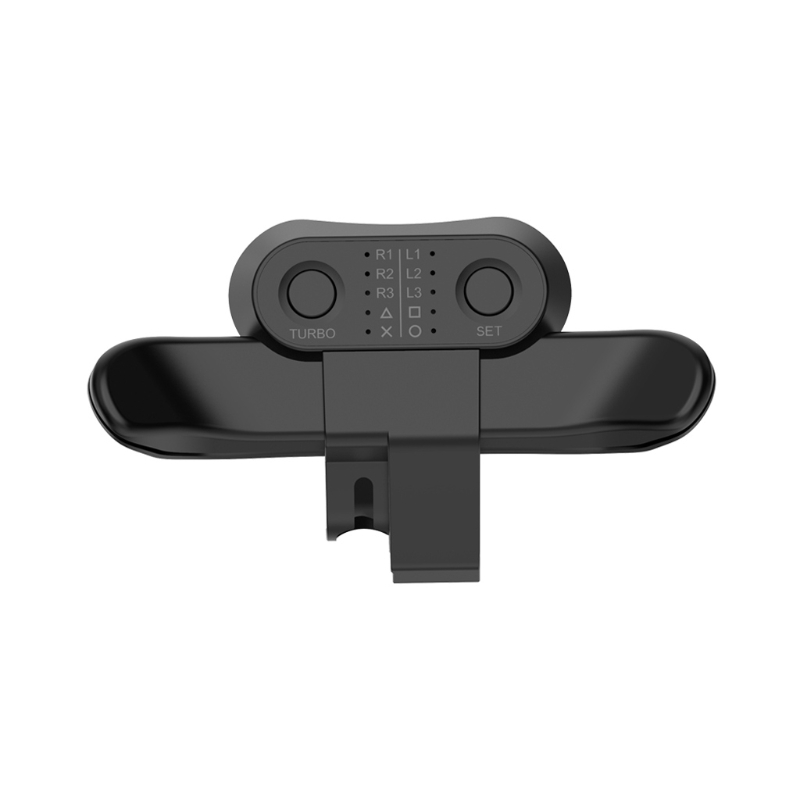 Bouton de fixation arrière de la manette de jeu étendue, bouton arrière du Joystick avec adaptateur de clé Turbo pour accessoires de contrôleur de jeu PS4