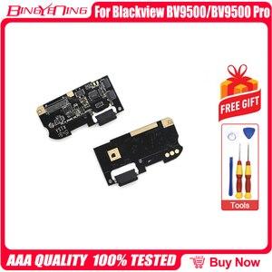 Image 1 - 100% 新のためのオリジナルusb充電ポートボードusbプラグblackview BV9500/ BV9500 プロ修理交換アクセサリー部品